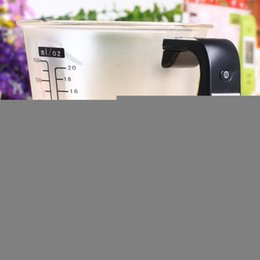 Wholesale Thermometer Coffee Cups - Hostweigh Kitchen Digital Scale Measuring Cup LCD Screen1000g Capacity Coffee Tea Weighing Device Thermometer Household Supplies