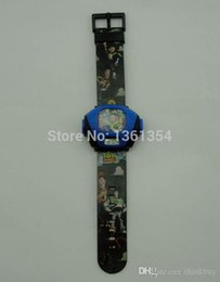 Wholesale Wholesale Toy Story Watch - wholesale 10pcs Cartoon Toy story Pattern Plastic Kid's Digital Projector Watch Free Shipping 0501#