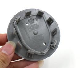 "Wholesale Car Wheels Center - Hight Quality Car Accessories 4Pcs 75mm 3"" Black Wheel Center Hub Caps Suitable for Pors Car Styling"
