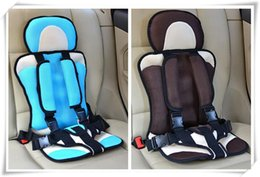 Wholesale Good Quality Chairs - Newest Good Quality Portable Child Car Seat,Baby Chair in Car,Protection Booster Car Seats for Toddlers Cushion,Red,Blue,Black