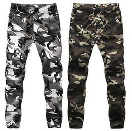 Wholesale Men Big Crotches - 2016 HOT Dnine autumn army fashion hanging crotch jogger pants patchwork harem pants men crotch big Camouflage pants trousers