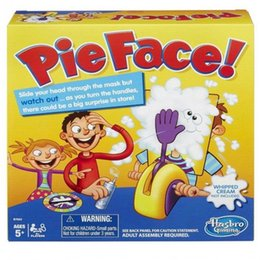 Wholesale Model Catapult - Korea Running Man Pie Face Toy Game Cream On Her Face Hit The Send Machine Paternity Toy Rocket Catapult Game Consoles DHL Free