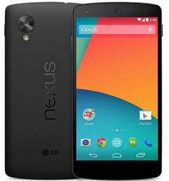 "Wholesale Google Nexus 3g - Refurbished Original Google LG Nexus 5 D821 Mobile Phone Quad Core 32GB 4.95"" 4G LTE 3G WCDMA Unlocked"
