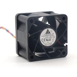 fans del servidor delta Rebajas Delta FFB0412SHN 4028 40MM 1U 2U servidor Ventilador 12V 0.45A pwm