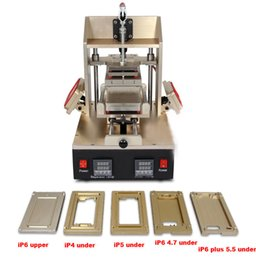 Wholesale Vacuum Frame - 2015 Cheapest price 5 in 1 Machine = for Samsung Bezel Splite + for iPhone Frame Laminator + Vacuum Separator + Glue Remover + Preheater