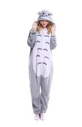 Wholesale Grey Christmas Pajamas - Totoro Onesie Costume Unisex-adult Animals Totoro Pajamas