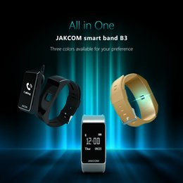 Wholesale Pulse Products - Jakcom B3 Smart Band New Product Of Wristba As Heart Rate Monitor Watch For Xiaomi Mi Band 2 Bracelet Talkband