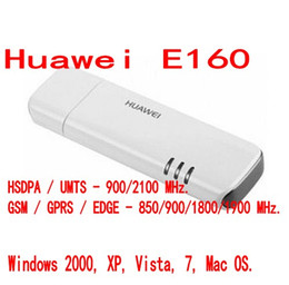 Wholesale Huawei 3g Dongle - UNLOCKED HUAWEI E160 E160E 3G USB Mobile Broadband Dongle Internet Modem Stick