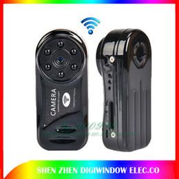 Wholesale Full Hd Video Size - WiFi camera Mini DV Wireless IP Camera mini camcorder Video Record wifi pocket-size Remote by Phone MD81-6 free shipping