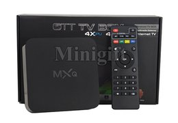 Wholesale Tv Channel Wholesale - Original MXQ 16.1 Rooted Smart Android TV BOX Fully Loaded Full HD IPTV Live TV Channels Kids Latest Movies Sports MX Media Player
