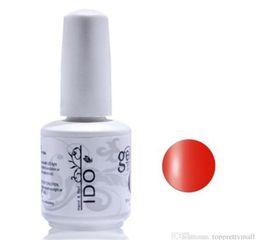 Wholesale Uv Gel Nail Polish Ido - UV Gel Nail Polish 15ml IDO Gelish 199 Colors Choose Any Colors Nail Art Soak Off UV Curing Color Gel