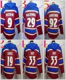 Wholesale Mixed Hoodies - Stitched Colorado cAvalanche Hoody #8 Ovekhkin 19 Backstrom 70 Holtby hockey Kids men Red Green Cream Jerseys Ice Jersey ,Hoodie Mix Order