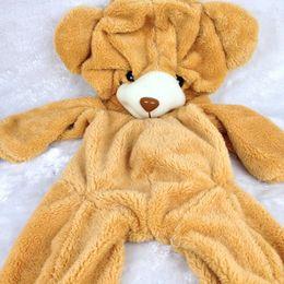 Wholesale Giant Cute Teddy Bear - Wholesale-2015 New Giant cute teddy bear plush only skin without PP cotton Roses toys 70 120 160cm Soft toy stuffed bicho ursinho de peluc