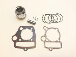 Wholesale Bike Kit Stroke - Dirt Pit Bike Engine Piston Kit with gaskets 70cc 90cc 47mm HONDA Loncin Lifan