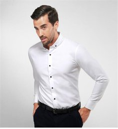 Wholesale Tuxedo Dress Party - New Arrival man's shirt dress the groom backing shirt wedding party shirts men shirts top grade man's bussiness shirt