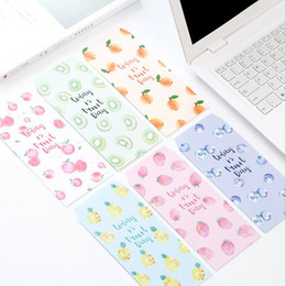 Wholesale Paper Cover Letter - Wholesale- P67 10X Fresh Summer Fruit Paper Envelope Gift Wrap DIY Tool Greeting Card Cover Giftbox Decor Letter Writing