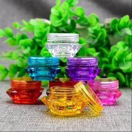 Wholesale Empty Eyeshadow Jars - 5 pcs 5g Cosmetic Empty Jar Eyeshadow Makeup Face Cream Lip Balm Container Pot