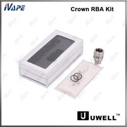 Uwell Crown Réservoir RBA Kit 100% Original Uwell Crown Atomiseur Reconstructible Bobine RBA Tête De Bobine Pour Uwell Crown Atomizer ? partir de fabricateur