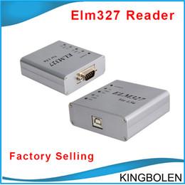 Wholesale Elm327 Usb Scanner Tool - DHL Free Shipping ELM327 USB CAN-BUS Scanner V2.1 Metal ELM 327 OBD OBD2 OBD II car Diagnostic tool