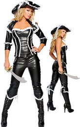 Wholesale Stewardess Halloween Costumes - 2015 I-Glam Costume Cosplay Stewardess Girl with Complete NSexy Police Traffic Cop Costume Wholesale Clubwear Halloween Costume Sexy Cosplay