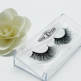 Wholesale Siberian Mink Eyelash Extension - Selling 1pair lot 100% Real Siberian 3D Mink Full Strip False Eyelash Long Individual Eyelashes Mink Lashes Extension