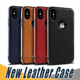 Wholesale fit business - New Business Leather Case Soft TPU Shell Full Protection Cases For iPhone X 8 7 6 6S Plus Samsung S8 S9 Plus Note 8 S7 edge