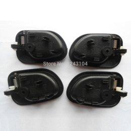 Wholesale Accent Driver - 95-99 Hyundai Accent Inside Driver Passenger Side Left Right Door Handle 1 Set free ship china