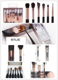 Wholesale Make Naked - New kylie Jenner Complexion Brush Set Naked Eyeshadow Palettes Foundation Makeup Brushes kinds of Make Up Tools