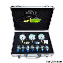 Wholesale Excavator Diagnostic - Excavator Hydraulic Pressure Gauge Tester Test Diagnostic Tool Kit