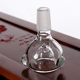 sigari filtrati Sconti 14.5 MM Ciotola di vetro Pipa da fumo Tabacco per sigari da pipa Filtro per porta ciotola PA010