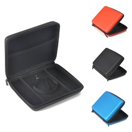 Wholesale Padded Cases - EVA Protector Secure Extra Thick Padding Padded Zipper Hard Case Hard Cover for Nintend o 2DS Protection Bag Game Card Shell 4 Colors