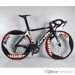 Wholesale Complete Road - Cervelo Diy Carbon Road Full Bike Complete Bike With Ultegra 5800  R8000 Groupset 88mm full carbon wheelset A01
