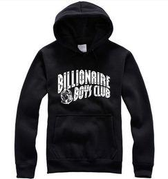 Wholesale Club O - Autumn Winter Billionaire Boys Club Printed Men Hoodies Full Sleeve Overcoat Fashion Male BBC Sweatshirt Boys Slim Pullovers