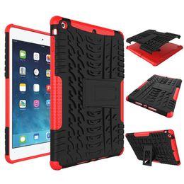 "Wholesale Ipad Hard Shell - 2017 Heavy Duty Armor Hybrid Anti-knock Silicon Hard Back Cover For 9.7"" iPad Pro 10.5"" iPad air 2 iPad mini 4"