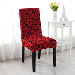 Wholesale Chair Dining Room Furniture - Wholesale- 2016 Stretch Removable Dining Room Office Stool Chair Cover Slipcovers