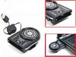 Wholesale Vacuum Usb Case Cooling Fan - Wholesale Free Shipping New Mini Vacuum USB Case Cooler Cooling Fan For Notebook Laptop