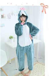 Wholesale Horse Jumpsuit - Fashion Designer Cosplay kawaii Anime Animal horse Pajamas Adult Unisex jumpsuit flannel Onesie Polyester Polar Sleepwear