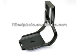Wholesale Eos 7d Grip - Wholesale-Camera L Plate Bracket with Grip for EOS 7D Quick Release Plate Arca Compatible