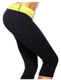 Wholesale Hot Capri Pants - Wholesale-Hot Shapers Women Capri Hot Pants Compression Pants Neoprene Control Panties Slimming Sweat Thermo Wear Capri Anti Cellulite 3XL