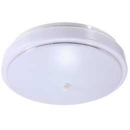 Wholesale Led Ceiling Lights Infrared - Lowest Price 15W Pure Warm White 5730 SMD 30 LED Infrared PIR Ceiling LightsCeiling Mount Lamp Light Bulb AC110-265V