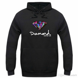 Wholesale Primitive Blue - Diamond supply co men hoodie women street fleece warm sweatshirt winter autumn fashion hip hop primitive pullover