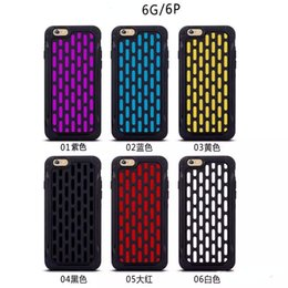 Wholesale Pc Cases Manufacturers - OEM Producer Manufacturer PC+TPU Fashion Trend Pattern 2 in 1 Style Phone Cases For iPhone 6s 6 Plus Cover For Samsung Galaxy S6 G355H s5