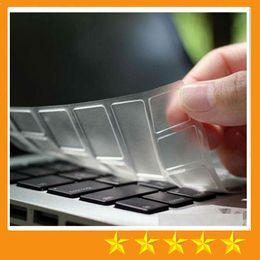 Wholesale Laptop 13 Waterproof - TPU Crystal Guard Keyboard Skin Protector Case Ultrathin Clear Transparent Film MacBook Air Pro Retina 11 13 15 Waterproof