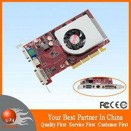 Wholesale Ddr 256mb - Wholesale-Top ATI Radeon 9800SE AGP 256MB 128BIT DDR TVO DVI Graphic card Free Shipping
