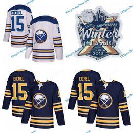 Wholesale Men Winter Jack - 2018 Winter Classic Buffalo Sabres Hockey Jerseys New AD 15 Jack Eichel 9 Evander Kane 23 Sam Reinhart 90 Ryan O'Reilly Stitched Jersey