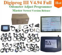 Wholesale Digiprog Full Set - Digiprog 3 V4.94 full set Odometer adjust programmer 2015 Latest Digiprog III Mileage Correct Tool Digiprog 3