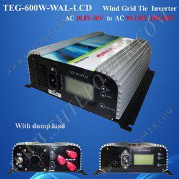 Wholesale Grid Inverter Wind - 600w grid tie power inverter for wind, 3phase ac 10.5-30v input to ac 220v, 230v, 240v, grid tie inverter for wind turbine