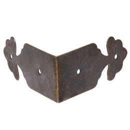 Staffe d'angolo del mobile online-Tono di bronzo del supporto della staffa dell'angolo del bordo della mobilia di angolo all'ingrosso di 8pcs