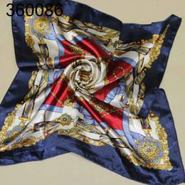 Wholesale Chiffon Printed Scarves - silk ceremonial scarf printed scarves 50 cm x 50 cm square scarf etiquette360086