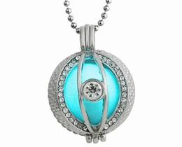 Lucky Pearl заявление ожерелье выдалбливают вокруг формы с Кристалл CZ Алмазный кулон мода Леди подарок на Рождество Хэллоуин косплей от Поставщики бриллиантовое жемчужное ожерелье